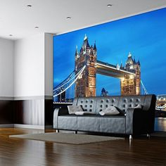 London Tower Bridge Mural Wall Decal