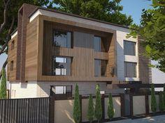 Проект: Реконструкция фасада — DS Fresco studio — MyHome.ru