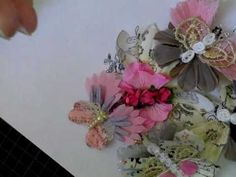 Handmade Butterflies out of Flowers - YouTube