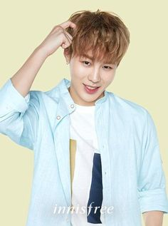 'Innisfree' shares adorable individual cuts of their new model Wanna One   allkpop.com