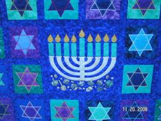 Chabad Chanukah quilt