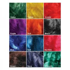Ashford Wool Dyes suitable for hand dyeing wool, silk and other animal (protein) fibres. The dyes are safe and easy to use and comply with Oeko-Tex Standard 100 Pink Brown, Purple, Hand Dyed Yarn, Dyes, Colours, Wool, Artwork, Painting, Crafting