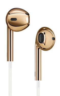 18K Gold Apple EarPods by Jony Ive and Marc Newson