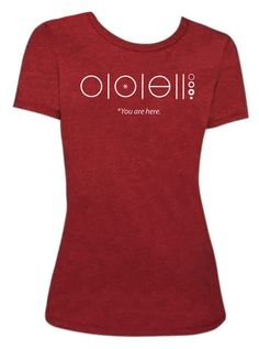 How cool is this? The entire Plan of Salvation in one simple graphic! Ladies Scarlet T-shirt Perfect for a missionary P-Day