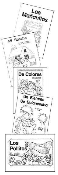 free little books for children | Nellie Edge kindergarten and early literacy resources #Learn #Spanish #spanishlessonforchildren