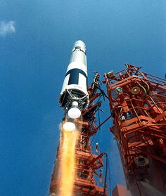 The launch of Gemini-9 (June 3, 1966)--a flight that fascinates Nath, the brother in my novel.