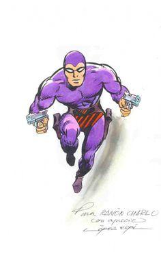 The Phantom Comic Art