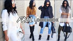 5 FLY FALL OUTFITS 2016! ➟ Lookbook w/ TheChicNatural!