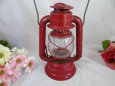 1950s Vintage Fire Engine Red Dietz Comet by SecondWindShop, $30.00