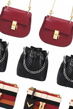 fall bags #chloe #sainlaurent #valentino #style #fashion