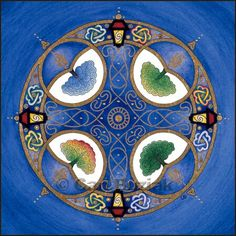 Celtic trees of life