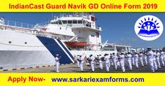 Join Indian Coast Guard has Recently Invited to the Apply Online Application Form for the Post of Navik (General Duty) 10+2 Entry 01/2020 Batch Recruitment 2019. Those Candidates has Interested to the Following examination and have all Eligibility Criteria Can Read the Full notice Before Apply Online Form. Online Application Form, Online Form, Indian Coast Guard, Central States, Online Registration, Apply Online, State Government, Important Dates, Online Dating