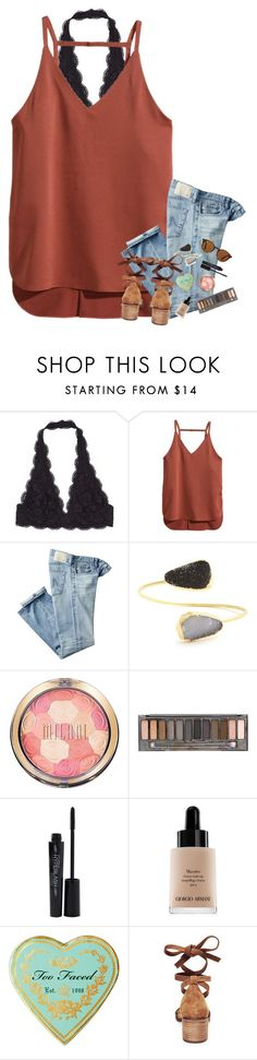 """kinda summery, but oh whale"" by mehanahan ❤ liked on Polyvore featuring H&M, AG Adriano Goldschmied, Sole Society, Urban Decay, Smashbox, Giorgio Armani, Steve Madden and Ray-Ban"