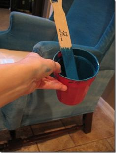 Tutorial: Cómo pintar el tapizado de un sillón