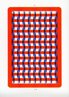 Riso Nice | A series of Risograph prints inspired by embroidery grids and patterns. By Sigrid Calon