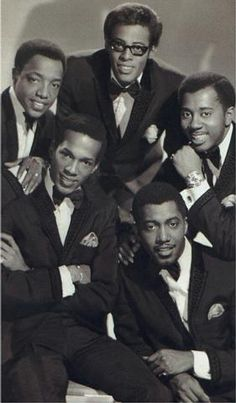 Totally awesome cats!  The original line-up of the talented Temptations.  Their choreography was always spot-on!