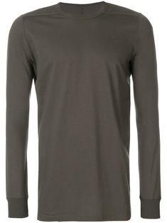 Rick Owens Basic Long Sleeves T-shirt Rick Owens Men, Mens Fashion, Brown, Long Sleeve, Sleeves, Mens Tops, T Shirt, Clothes, Collection