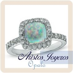 Diseños exclusivos y bellos con la piedra Ópalo, para anillos en oro y diamantes!