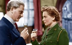 The Life and Death of Colonel Blimp (1943). Directed by Michael Powell and  Emeric Pressburger and starring Roger Livesey , Anton Walbrook and Deborah Kerr.