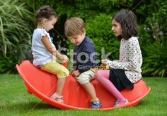 Children with hearing aid. Royalty Free Stock Photo