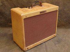 1960 Fender Deluxe Amp #fender #amp #music #baroquenoise