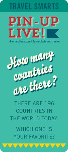 Travel Smarts - How many countries are there?