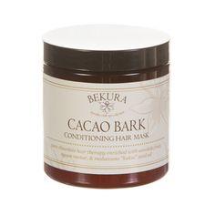 Bekura Beauty - CACAO BARK CONDITIONING HAIR MASK, $20.00 (http://www.bekurabeauty.com/cacao-bark-conditioning-hair-mask/)