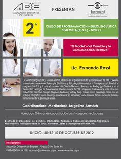 2º Curso de Programación Neurolingüística Sistémica - Nivel I (2012)