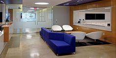 Kontour Lounge(Blue) from Davis Furniture - MRM Worldwide Princeton, NJ Davis Furniture, Contract Furniture, Plan Design, Industrial Furniture, Aurora, Lounge, Interiors, How To Plan, Contemporary