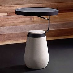 Andrea Ponti s Kanban steel and concrete side table via coadg- inspiration, hongkong