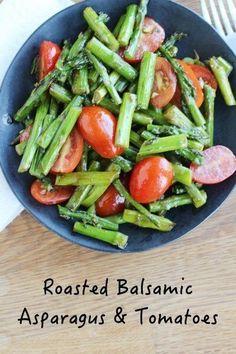 Asparagus Salad, Asparagus Recipe, Tomato Salad, Roast Asparagus, Clean Eating, Healthy Eating, Eating Well, Healthy Food, How To Cook Asparagus