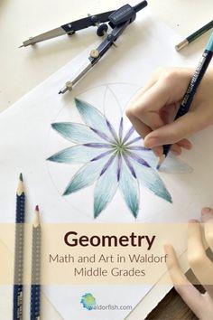 Waldorf Geometry :: Math in the middle grades Waldorf Curriculum, Waldorf Education, Physical Education, Montessori Math, Homeschool Math, Homeschooling Resources, Rudolf Steiner, Steiner Waldorf, Fun Bridal Shower Games