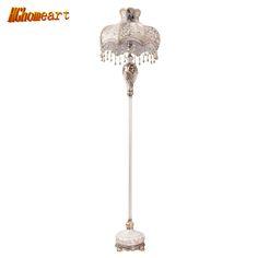 European Style Retro Floor Lamp Bedroom Study Room Living Room Lighting American High - End Villa Exhibition Room Model Lamps #Affiliate
