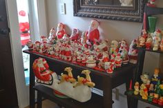 Busy day around here getting ready for Santa. I hope you all have a wonderful Christmas! Now, take a minute and enjoy the madness that go. Christmas Kitchen, Christmas Past, Retro Christmas, Vintage Holiday, All Things Christmas, Christmas Holidays, Christmas Crafts, Christmas Decorations, Holiday Decor