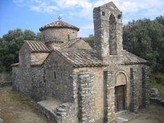Byzantine church in Naxos, Greece