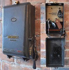 cast iron key storage converted from an antique 1940 s revo fuse rh pinterest com Electrical Fuse Box Fuse for Older Home