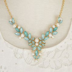 Lady-Princess-Floral-Pandent-Bib-Statement-Bohemia-Choker-Party-Beach-Necklace-B