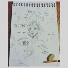 Sketchbook #sketchbook #sketch #sketching #drawing #draw #art #artist #pencildrawing #pencil #goodnight #love #cute #characterdesign #doodle #eyes #face