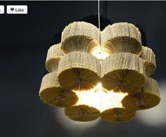 non traditional chandelier