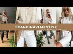 SCANDINAVIAN STYLE MUST HAVES 2020 – SandraEmilia Scandinavian Style, Styling Tips, Must Haves, White Jeans, Pants, Fashion Tips, Inspiration, Outfits, Trouser Pants