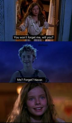 Wendy: Peter. You won't forget me, will you? Peter: Me? Forget? Never. Wendy: Will you ever come back? Peter: To hear stories.. About me. - Peter Pan directed by P.J. Hogan (2003) Play by James Matthew Barrie #jamesmatthewbarrie #fanart