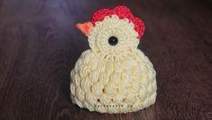 Návod na háčkované kuriatko - NÁVODY NA HÁČKOVANIE Easter Crochet, Cute Baby Animals, Crochet Flowers, Cute Babies, Crochet Patterns, Crochet Hats, Christmas Ornaments, Knitting, Holiday Decor