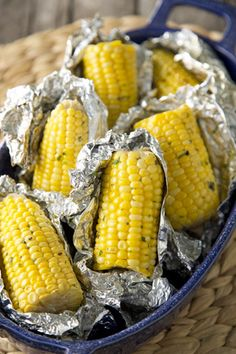 Grilled corn on the cob  http://www.pauladeen.com/recipes/recipe_view/grilled_corn_on_the_cob/
