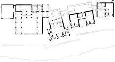Cuando los arquitectos construyen sus casas (I): Can Liz, de Jørn Utzon Angular Architecture, Architecture Plan, The Plan, How To Plan, Jorn Utzon, Plan Sketch, House Plans, Floor Plans, Diagram