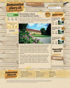 RemeselnéZľavy.sk - Handicraftsman's daily deal website