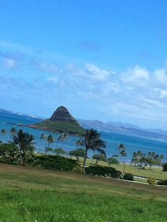 Chinaman hat of Oahu