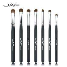 Cabelo Natural Eye Makeup Brushes Set Professional Eyeshadow escova para a composição sombra make up Brushes ferramenta JE07PY navio livre(China (Mainland))