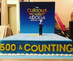 performance of Curious Incident on Broadway! Proud to be a Curious Dog. Broadway Plays, Theatre, Nyc, Celebrities, Cake, Instagram Posts, Dogs, Celebs, Broadway Shows