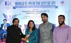The #TAFE Group won 16 #awards at the recently concluded Public Relations Council of India (PRCI) – 10th Global #Communication Conclave - Corporate Collateral Awards, held in Kolkata, India. With the highest number of awards and ratings, the TAFE Group was crowned the 'Champion of Champions' award. Over 50 renowned companies and organizations from the public and the private sector participated in the conclave. Click the image to read more about the awards and the conclave on TAFE…