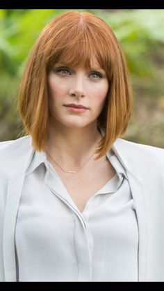 Bryce Dallas Howard Begins Shooting for 'Jurassic World - Heroic Hollywood Jurassic World Claire, Jurassic Park World, Bryce Dallas Howard, Beastie Boys, Chris Pratt, Claire Dearing, Elodie Frégé, About Hair, Real Women